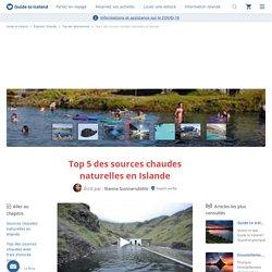 Sources chaudes en Islande