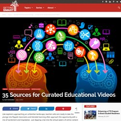 Example: 35 Sources for Curated Educational Videos