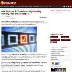 40+ Sources To Download High-Quality Royalty Free Stock Images