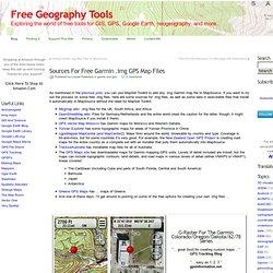 Sources For Free Garmin .img GPS Map Files