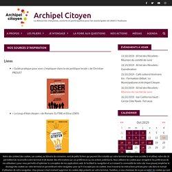 Nos sources d'inspiration - Archipel Citoyen