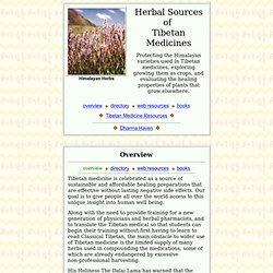 Tibetan Medicinal Herbs