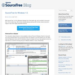 SourceTree for Windows 1.5