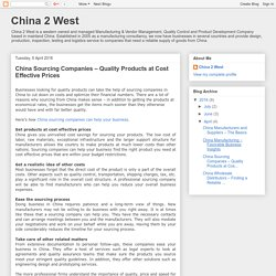 China Sourcing Companies – Quality Products at Cost Effective Prices