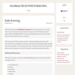Globaltech Ventures - India Sourcing