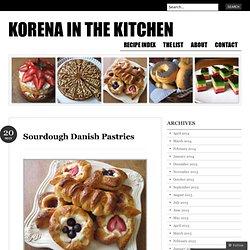 Sourdough Danish Pastries