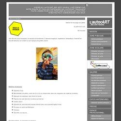 Sous le masque - L'AutocArt des arts visuels
