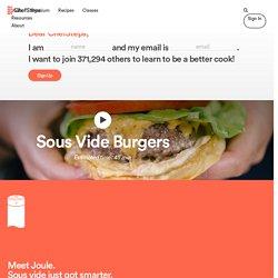 Sous Vide Burgers