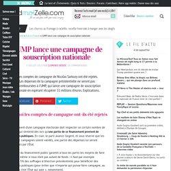 L'UMP lance une campagne de souscription nationale