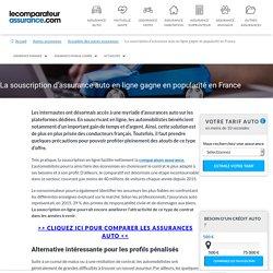 La souscription d'assurance auto en ligne gagne en popularité en France