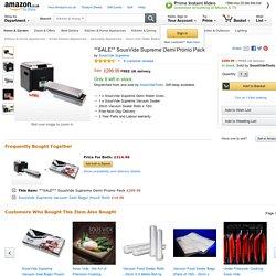 **SALE** SousVide Supreme Demi Promo Pack: Amazon.co.uk: Kitchen & Home