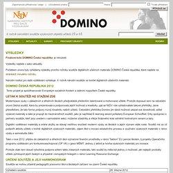 Soutěž DOMINO - O soutěži