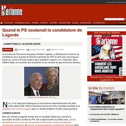 Quand le PS soutenait la candidature de Lagarde