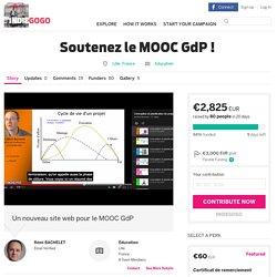 Soutenez le MOOC GdP