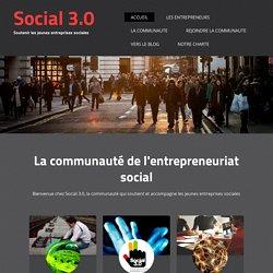 Soutenir les jeunes entreprises sociales