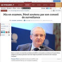 2009 BPCE François Pérol mise en Examen 2014