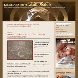 les lignes de nazca... une carte des sources souterraines ?