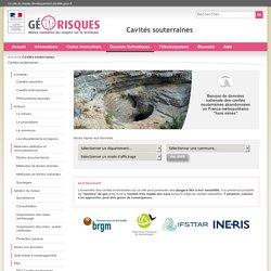 Cavités souterraines