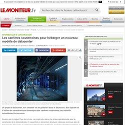 Les carrières souterraines pour héberger un nouveau modèle de datacenter - Informatique & construction