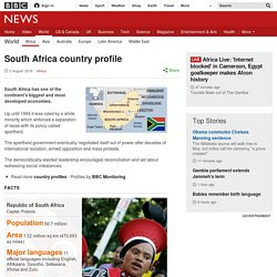 South Africa profile - overview