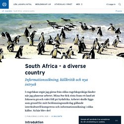 South Africa - a diverse country · Mia Smith