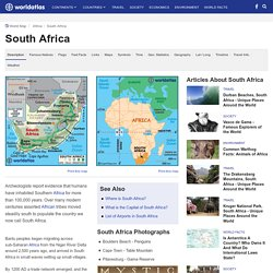 South Africa Map / Geography of South Africa / Map of South Africa