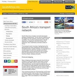 South Africa's transport network
