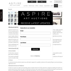 Buy Art in South Africa with Aspire Art □ (View all art on sale)