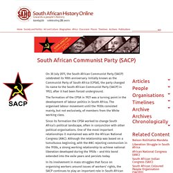 South African Communist Party (SACP)