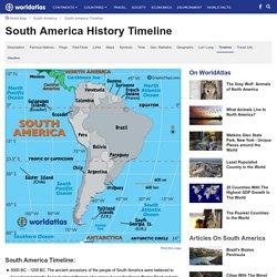 South America Timeline - Timeline of South America