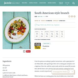 South American Style Brunch