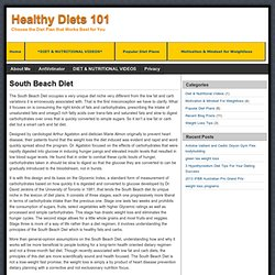 Healthy Diets 101
