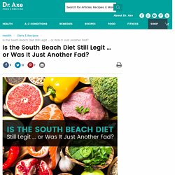 Is the South Beach Diet Still Legit ... or Was It Just Another Fad?