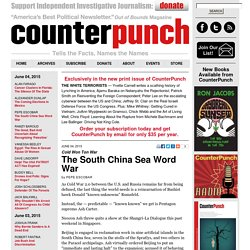 The South China Sea Word War