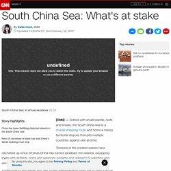 South China Sea: What's at stake