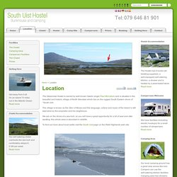 South Uist Hostel Accommodation