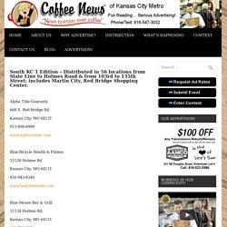 South Kansas City Edition - Coffee News KC Metro