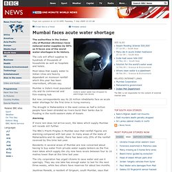 Mumbai faces acute water shortage