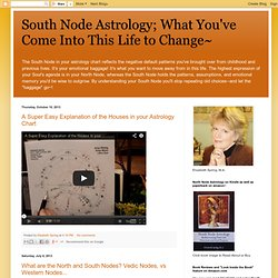 South Node Astrology
