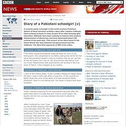 Diary of a Pakistani schoolgirl (v)