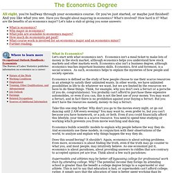 South-Western: The Economics Degree