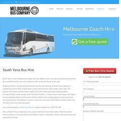 South Yarra Bus Hire - Melbourne Bus Company