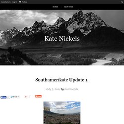 Southamerikate Update 1.
