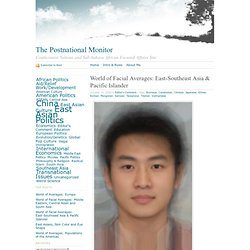 World of Facial Averages: East-Southeast Asia & Pacific Islander