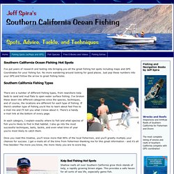 Southern California Ocean Fishing Hot Spots