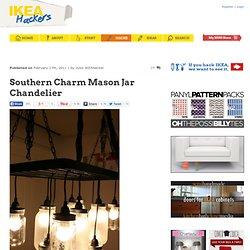 Southern Charm Mason Jar Chandelier