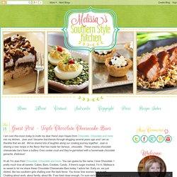 Guest Post - Triple Chocolate Cheesecake Bars