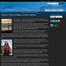 Southern Ocean dredges up more surprises — SAMS