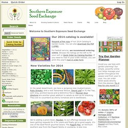 Southern Exposure Seed Exchange, Saving the Past for the Future