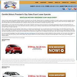 Best Lease Deals In NJ